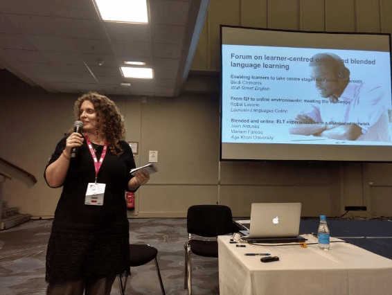 Belinda Clements at IATEFL 2018